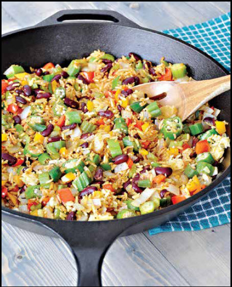 Vegan Creole Fried Rice – Cooking With Kimberly