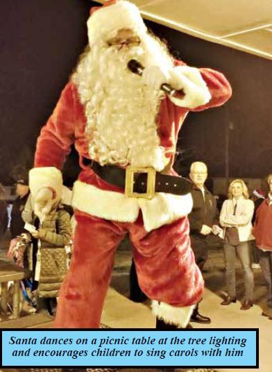 Community Helps Santa  Deliver Christmas
