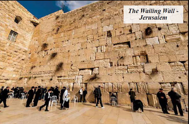 The Western Wall And Western World