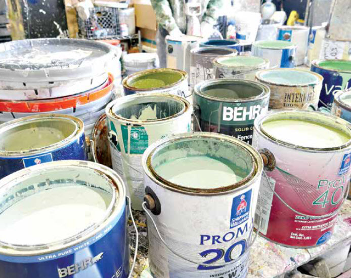 """""""I Have Leftover Paint.  How Can I Dispose Of It?"""""""