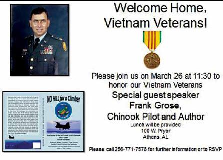 Welcome Home, Vietnam Veterans!