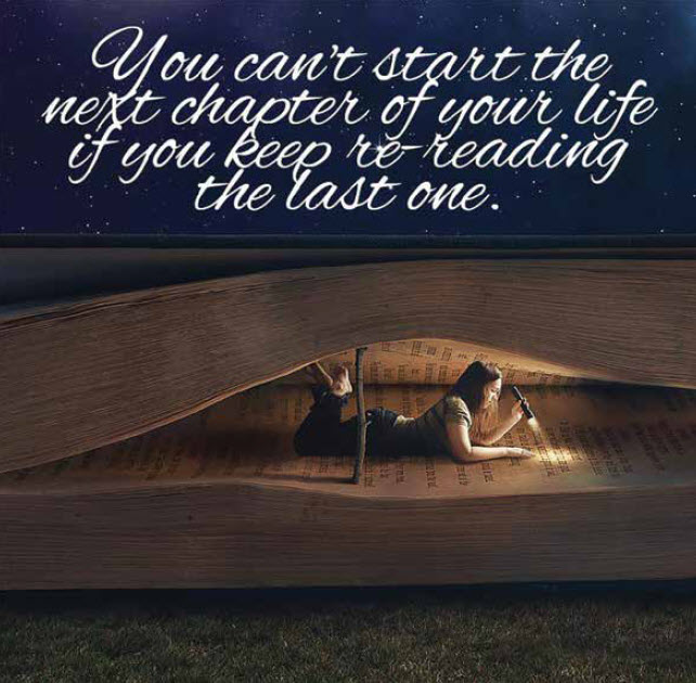 The Next Chapter…. Turn The Page!