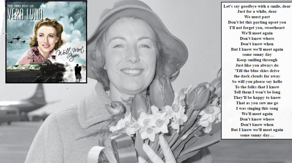 "All Things Soldier: WW II ""Sweetheart Singer"" Vera Lynn Passes At The Age Of 103"