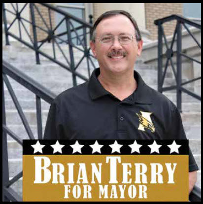 Brian Terry Is Asking For Your Vote On August 25