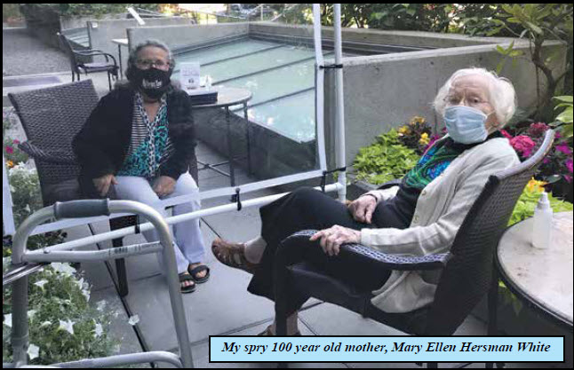 Zooming To Celebrate My Mother, The Seattle Centenarian
