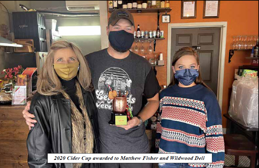 Athens Main Street Awards 2020 Cider Cup & Window Decorating Contest Winners