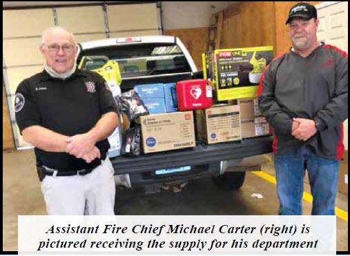 Elkmont Volunteer Fire Dept. News