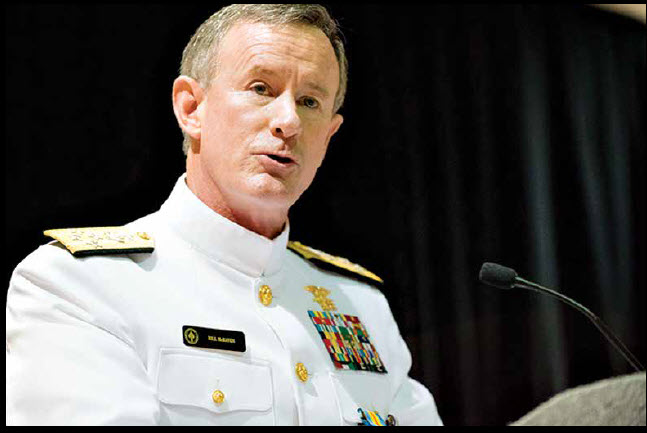 All Things Soldier: Admiral McRaven: From Osama To Skipper The SEAL
